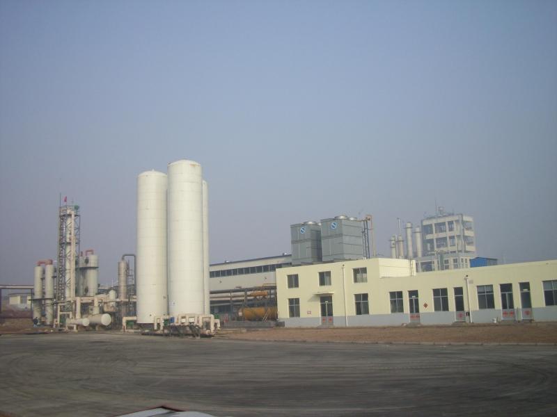 2008年3月份,二氧化碳车间投产