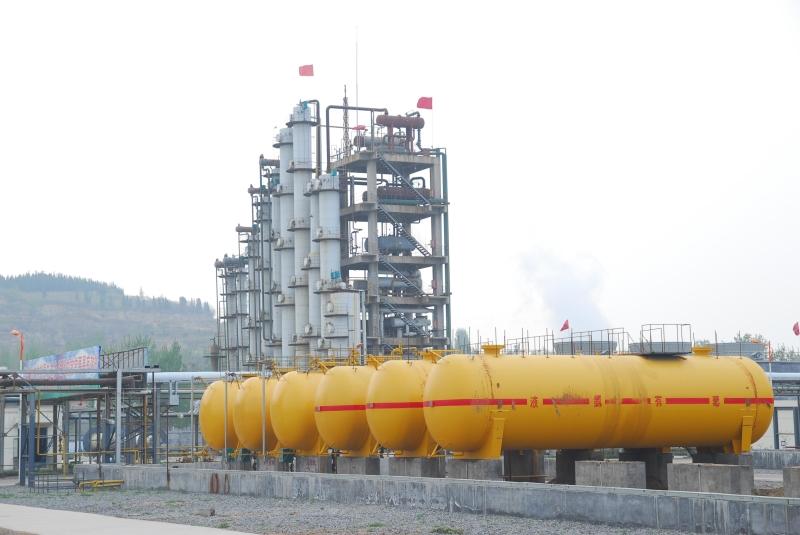 2012年7月份,第二条乙胺生产线投产