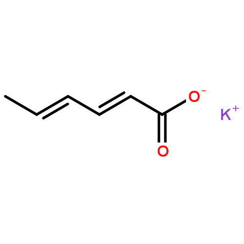 山梨酸钾(CAS NO.:24634-61-5)